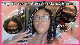 Vlog: Prepare With Me For My Trip To Florida PT. 1!!! || Cam Blancco