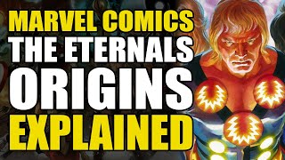 Marvel Comics: The Eternals Origin Explained | Comics Explained