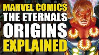 Marvel Comics: The Eternals Origin Explained | Comics Explained