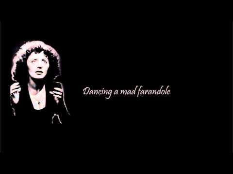 Édith Piaf - La Foule (English Lyrics, Paroles Français)