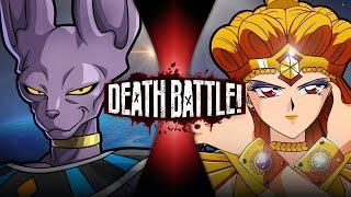 Beerus VS Sailor Galaxia (Dragon Ball VS Sailor Moon) | DEATH BATTLE!