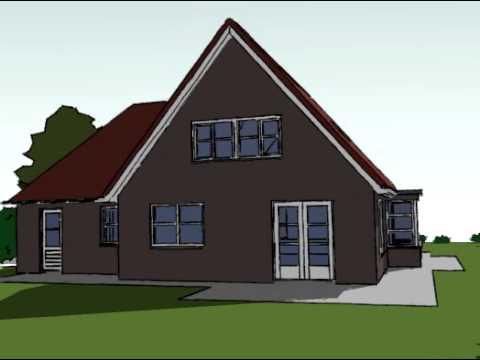Voorbeeldplan nieuwbouw woningontwerp BB770