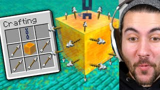 Testing 1000IQ Traps In Minecraft To See If They Work