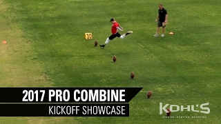 Kickoff Competition | 2017 Kohl's Kicking Pro Combine | NFL Prospects