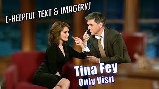 Tina Fey - The Ideal Craig Ferguson Guest? - Her Only Appearance [+Helpful Text & Imagery]