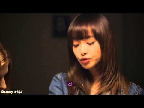 [HD] f(x) Victoria Speaking English (DO..THE CUP Story)
