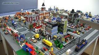 """OLD Video! Updates on my channel! LEGO city """"Mellemby"""" & Classic Space base update Dec. 6, 2014"""