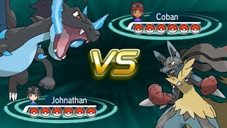 Pokemon X and Y Wifi Battle: Vs Cobanermani456 (In-Game Teams)