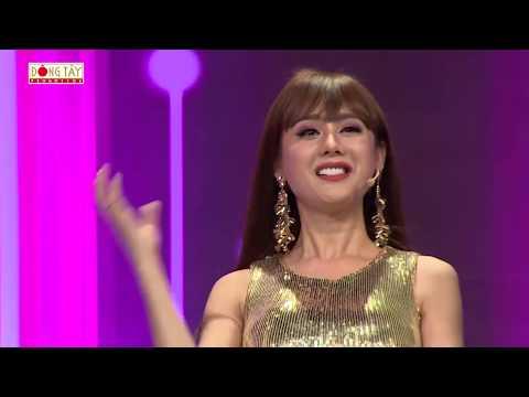 Lâm Khánh Chi liên tục khen Quyền Linh đẹp trai khiến Việt Hương nghi ngờ