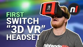 "The First Nintendo Switch ""3D VR"" Headset - NS Glasses Review"