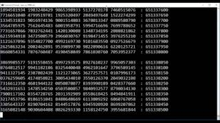 Pi - 1 billion plus digits