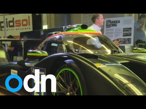 Amazing 3D printed racing car