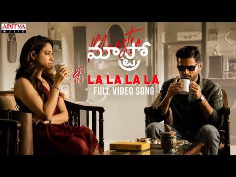 Lalala video song from Maestro movie ft. Nitin, Tamannaah, Nabha Natesh