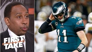 Eagles were 'emasculated' by the Saints on Sunday – Stephen A. | First Take