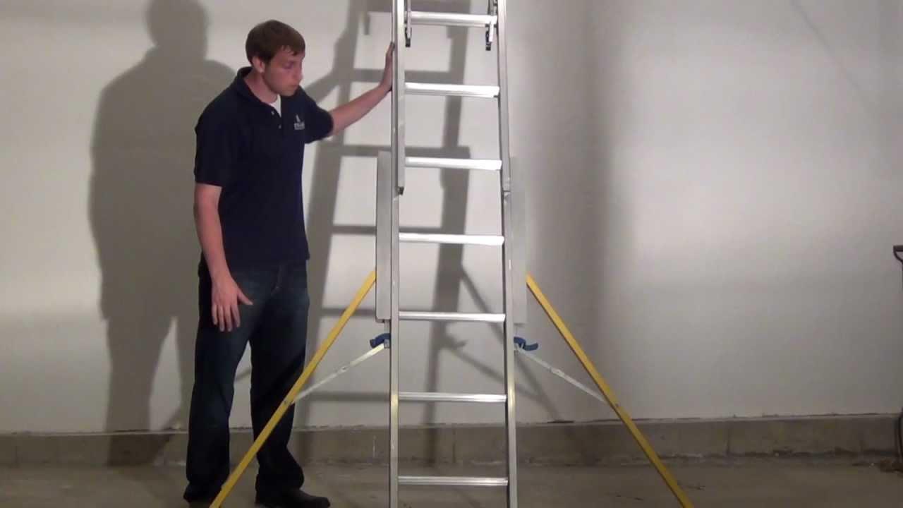 Stablebase Extension Ladder Stabilizer Demo Youtube