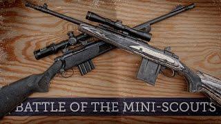 Battle of the Mini-Scouts: Ruger Gunsite Scout vs Mossberg MVP Patrol 5.56 NATO