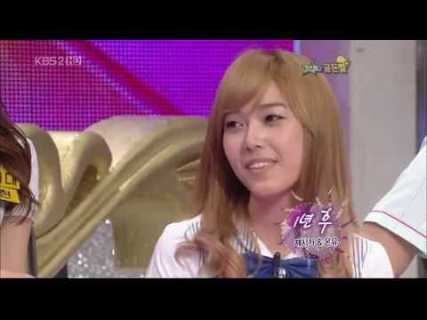 SNSD Jessica's unusual gag code in Star Goldenbell