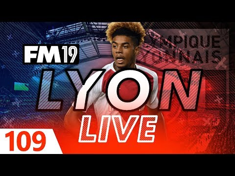 Football Manager 2019 | Lyon Live #109: 2 Cup Finals! #FM19