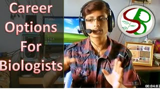Career options for biology students in India