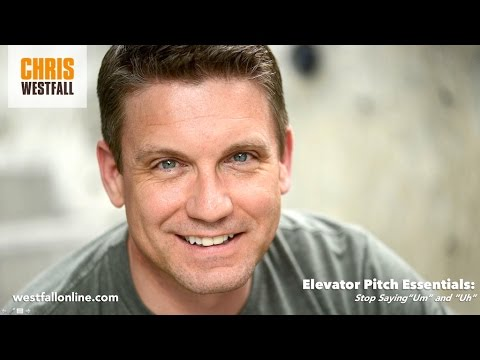 5:23 Elevator Pitch Essentials with Chris Westfall - Stop Saying