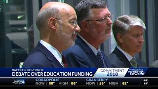 Governor Wolf Thinks His Plan To Cut $1 Billion From 362 Is Laughing Matter