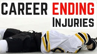 The 5 CAREER ENDING Injuries in the NHL