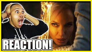 ETERNALS FIRST LOOK! | Marvel Studios Celebrates The Movies REACTION!