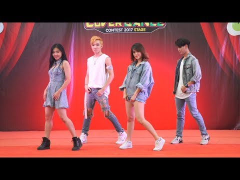171125 Verb To Be cover KARD - Hola Hola @ The Paseo Town Cover Dance 2017