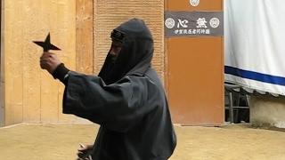 NINJA SHOW AT IGA UENO IN JAPAN
