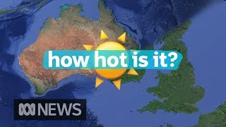 Why 25 degrees really is hot in the UK