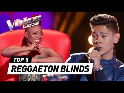 Incredible REGGAETON SONGS in The Voice (Kids)