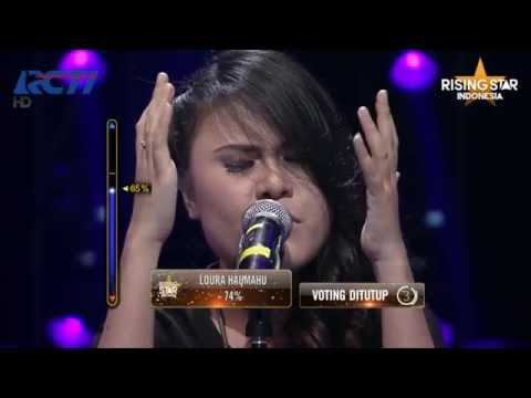 "Baixar Mega Pistia ""Talking To The Moon"" Bruno Mars - Rising Star Indonesia Final Duels 2 Eps. 14"
