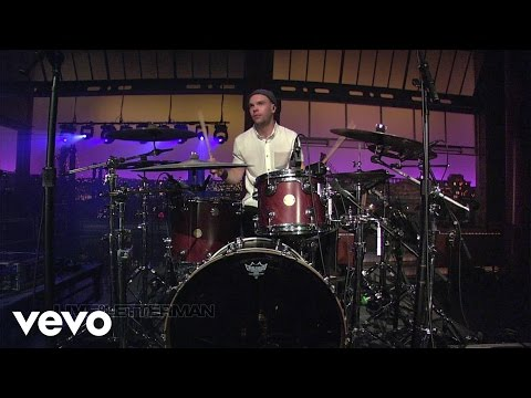 Passion Pit - Sleepyhead (Live on Letterman)