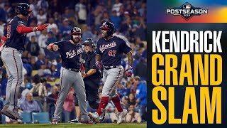 Howie Kendrick SMASHES grand slam to give Nationals lead vs Dodgers in NLDS Game 5! | MLB Highlights