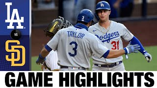 Dodgers win on AMAZING throw from Chris Taylor to end game   Dodgers-Padres Game Highlights 8/5/20