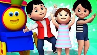 If You Are Happy And You Know It Clap Your Hands Song | Bob The Train Kids Tv