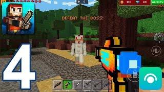 Pixel Gun 3D - Gameplay Walkthrough Part 4 - Block World: Levels 1-3 (iOS, Android)