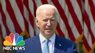President Biden Announces New Restrictions On Guns | NBC Nightly News