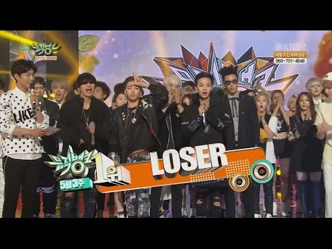 BIGBANG – 'LOSER' 0515 KBS Music Bank : NO.1 OF THE WEEK
