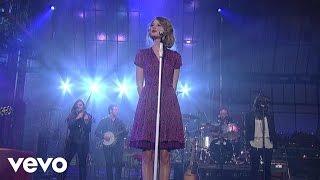 Taylor Swift - Love Story (Live on Letterman)