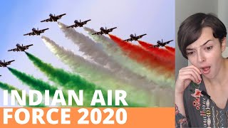 Indian Air Force 2020   REACTION!