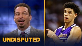 Can Lonzo Ball push the Lakers to a playoff spot next season? Chris Broussard answers   UNDISPUTED