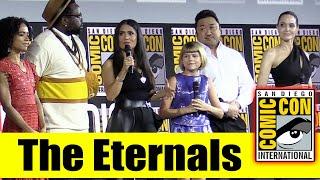 THE ETERNALS | 2019 Marvel Comic Con Panel (Angelina Jolie, Selma Hayek, Richard Madden, Don Lee)