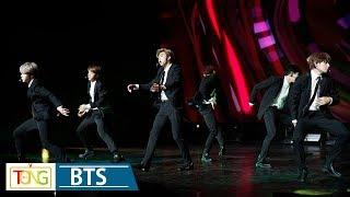 BTS 'DNA' & 'IDOL' Korea-France Friendship Concert Stage (방탄소년단, 한불 우정콘서트 '한국 음악의 울림', 문재인)