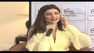 Sushmita Sen Speaks After Attending FICCI FLO Event In Hyd..