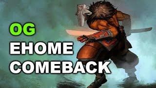 OG vs EHOME Game 2 - What a Siege - Dota 2