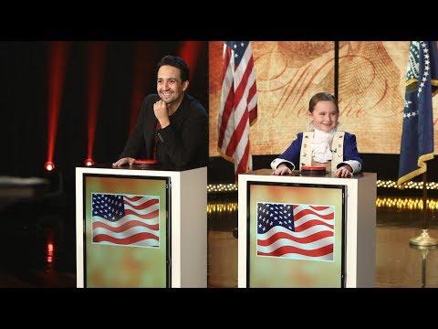 Lin-Manuel Miranda and Macey Hensley Face Off in Historical Trivia