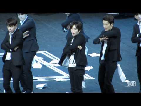 140802 SJM Swing Eunhyuk focus @Guangzhou Jacky Chan's concert
