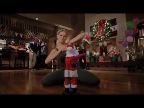 Happy Endings Hip Hop Santa Dance-Off
