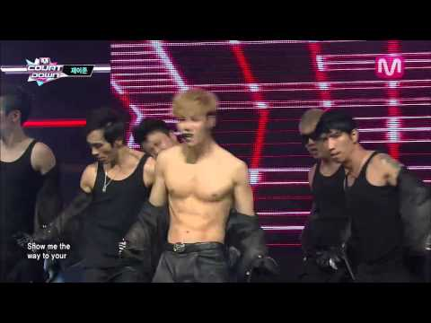 제이준_미친 매력 (Way to your heart by Jjun@Mcountdown 2013.11.14)